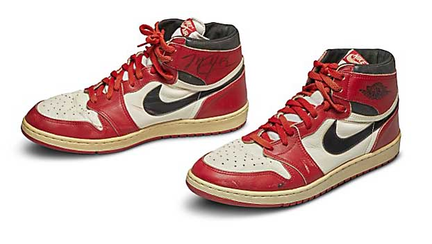 Used sneakers sell for $560,000